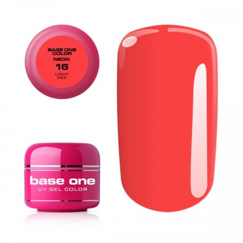 Gel Neon 08 Blue Base One Silcare  SILCARE