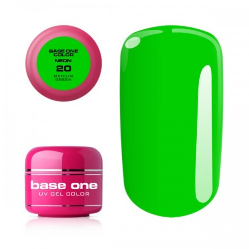 Gel Neon 12 Coral Base One Silcare  SILCARE