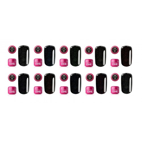 GEL NEON 17 - RUBY PINK SILCARE BASE ONE
