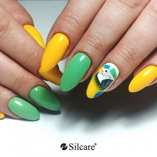 Paint Gel 04 Violet Base One Silcare  SILCARE