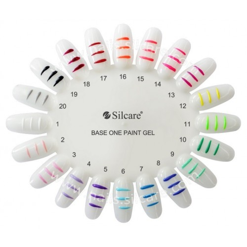 Paint Gel 07 BLUE Silcare Base One