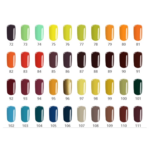 Gel Base One 11A Flaming Pink Color Silcare  SILCARE