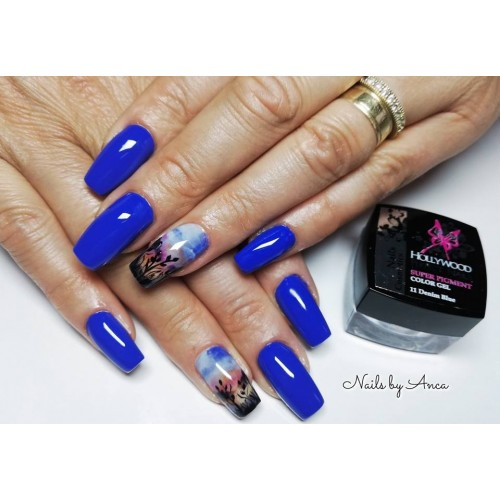 Super Color 06 Flaming Pink Gel Unghii HPN  HOLLYWOOD PERFECT NAILS