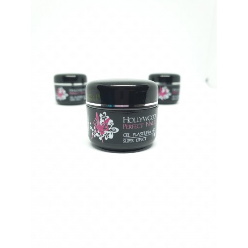 Magic Glitter 00Rainbow White Gel Unghii HPN  HOLLYWOOD PERFECT NAILS
