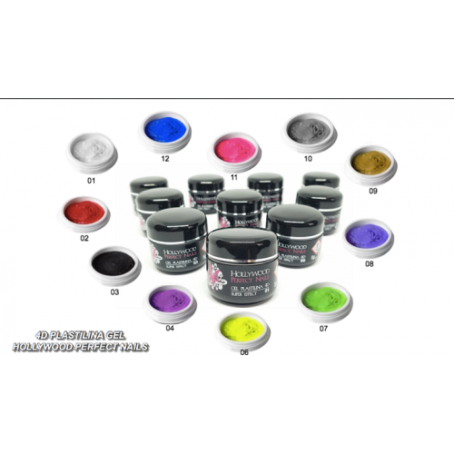 Magic Glitter 03 Meatllic Rose Gel Unghii HPN  HOLLYWOOD PERFECT NAILS