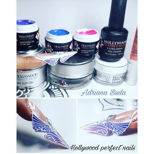 MAGIC GLITTER 14 METALIC GOLD GEL UNGHII HOLLYWOOD HOLLYWOOD PERFECT NAILS