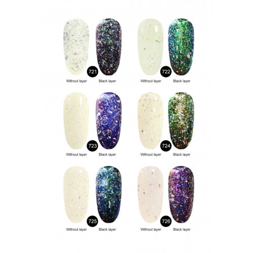 Perfect Sealer Finish Silcare  HOLLYWOOD PERFECT NAILS
