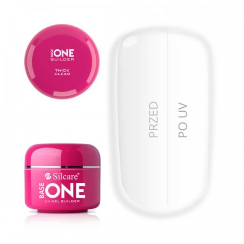 PINK Gel Unghii Base One Silcare SILCARE