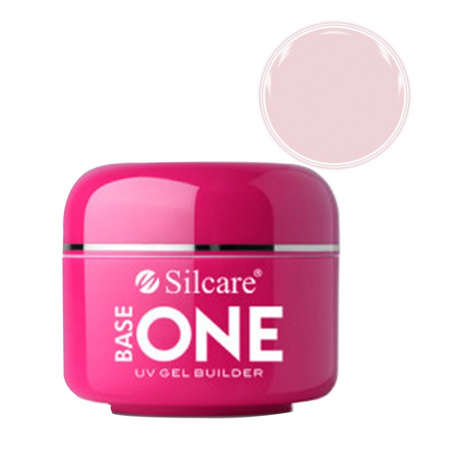 Bianco Extra W3 Gel Unghii Base One Silcare