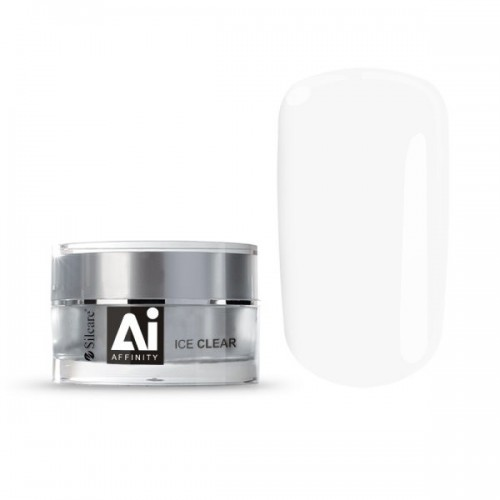 Affinity Ice Clear Gel Unghii Profesional 3in1 Silcare  SILCARE