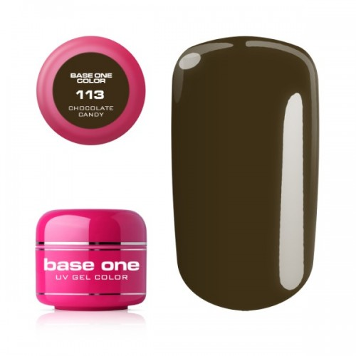 Gel Base One 110 Foxy Red Color Silcare  SILCARE